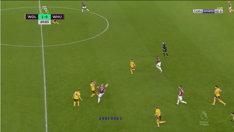 Marko Arnautovic West Ham Wolves Tactical Analysis Statistics