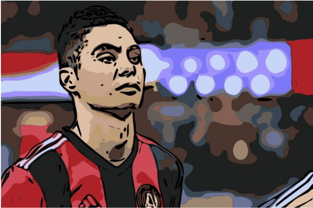 Miguel Almiron Newcastle Atlanta Tactical Analysis