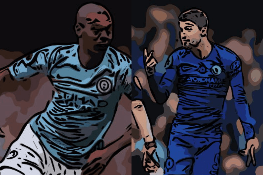 Fernandinho Jorginho Manchester City Chelsea Tactical Analysis