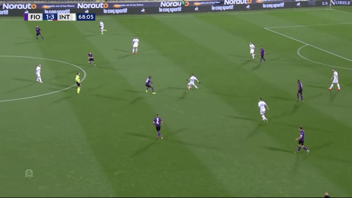 Defensive structure Fiorentina