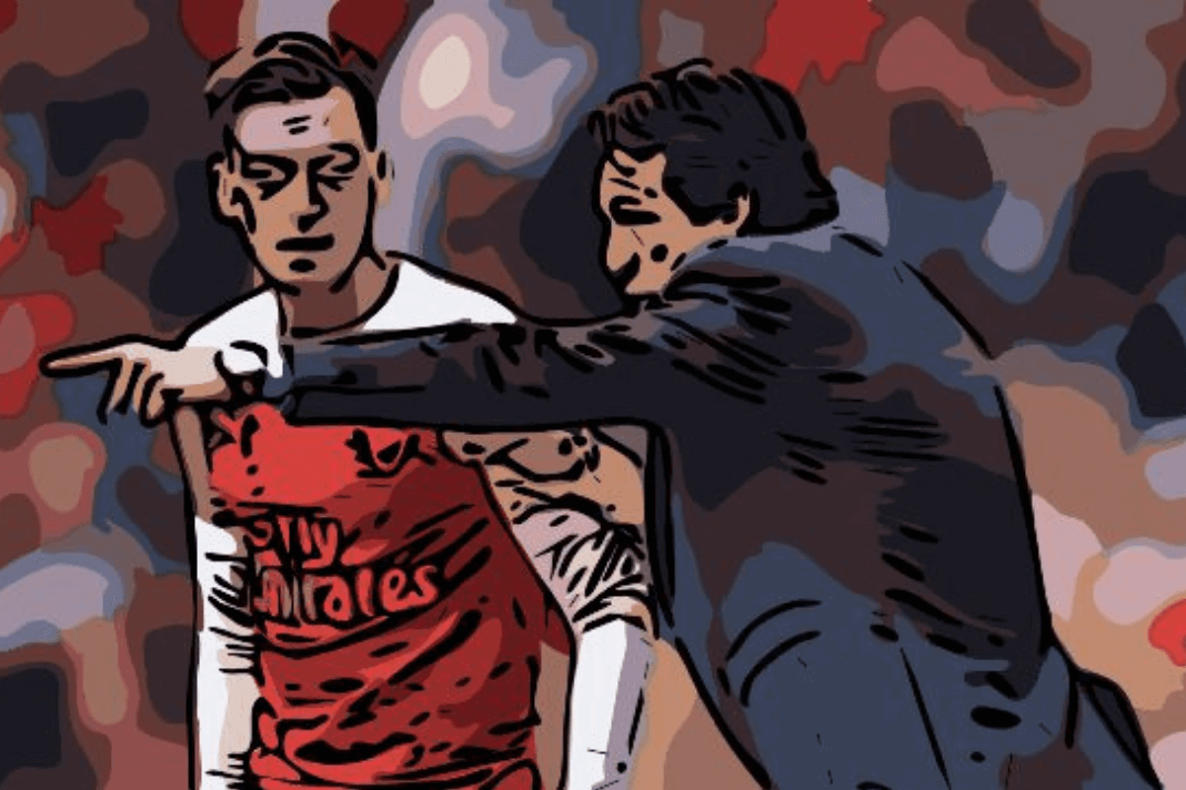 Mesut Ozil Arsenal Tactical Analysis Unai Emery