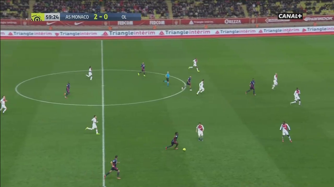 Monaco Lyon Tactical Analysis