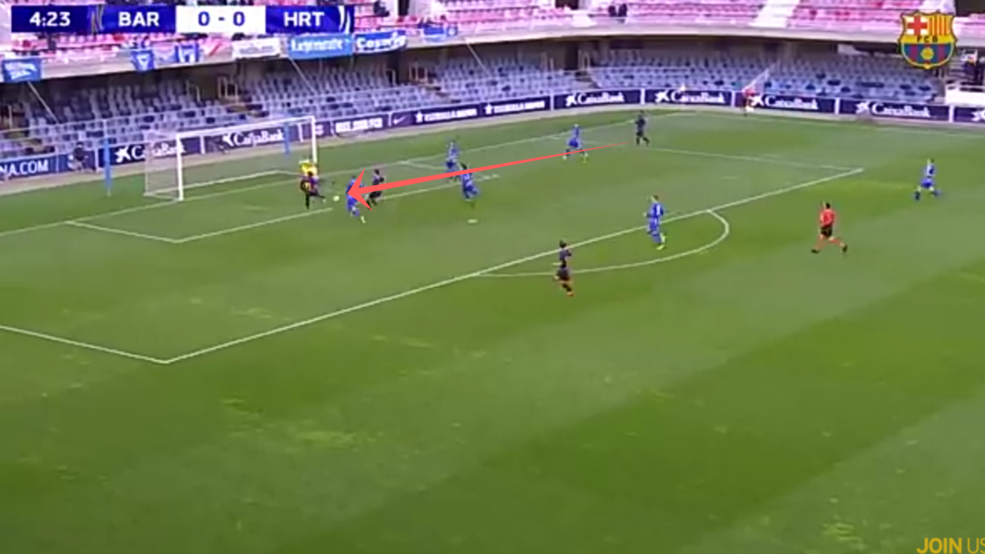 barcelona-hertha berlin-uefa youth league- tactical analysis-analysis