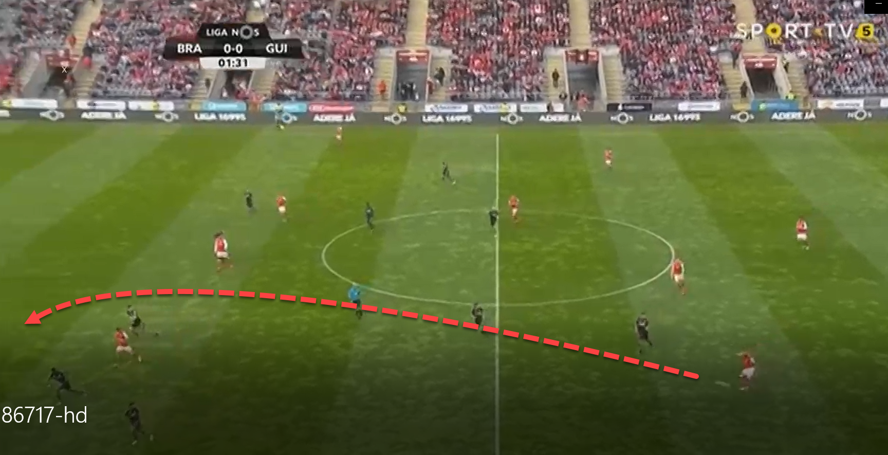 Braga Guimaraes Primeira Liga Tactical Analysis