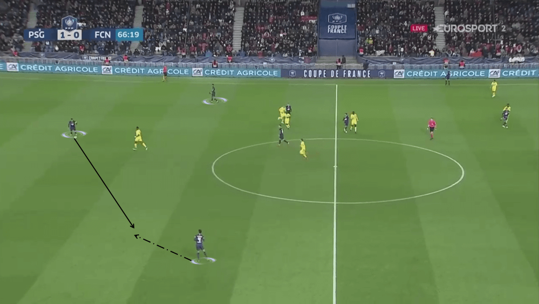 psg nantes french cup tactical analysis analysis statistics