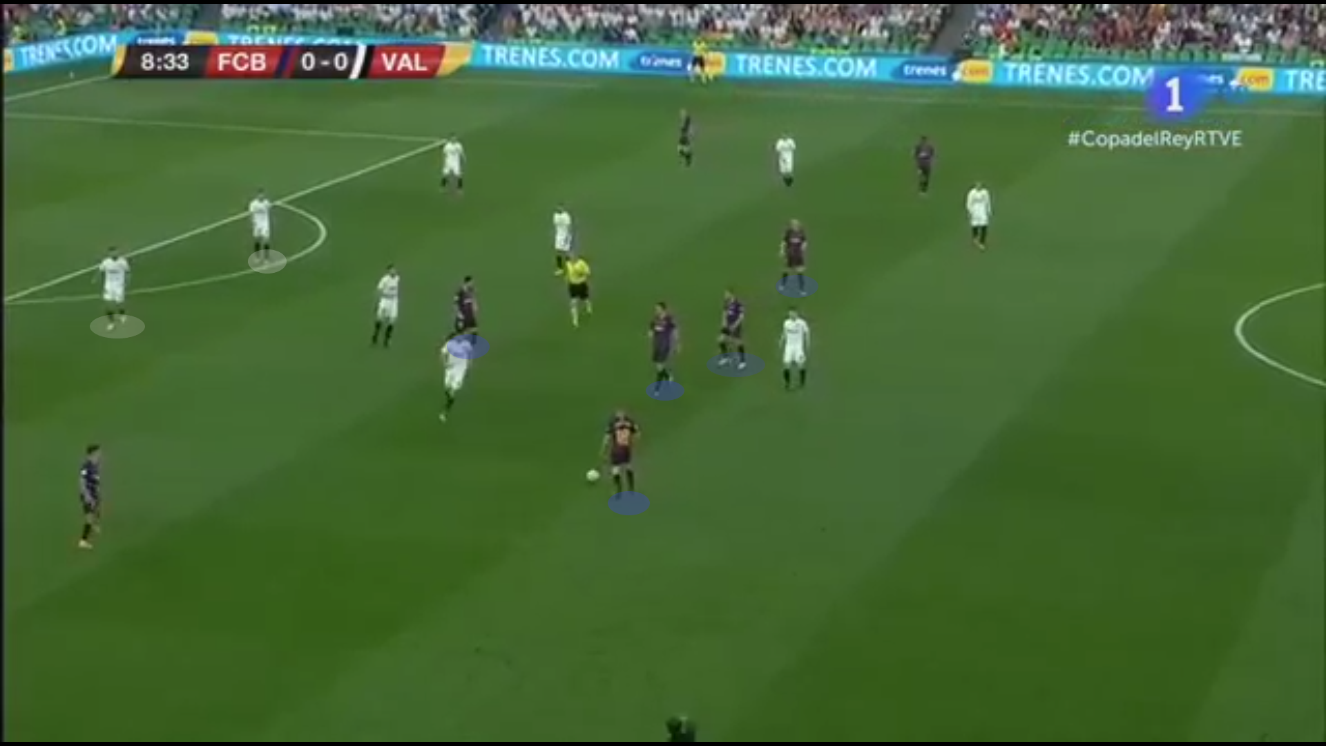Copa Del Rey tactical analysis 2018/19: Barcelona vs Valencia