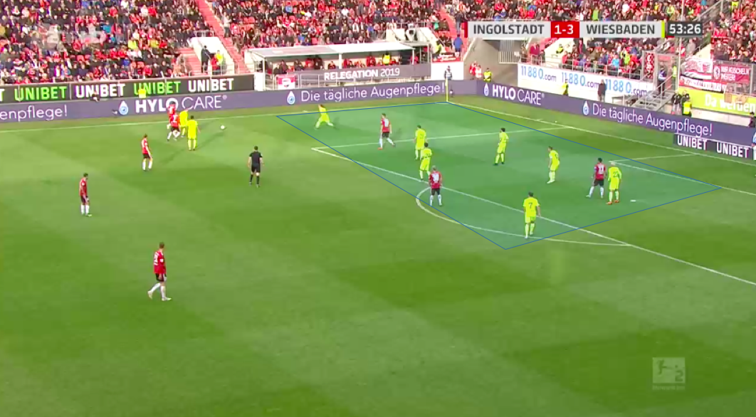 2. Bundesliga Playoff 2018/19 Tactical Analysis: Ingolstadt vs Wehen Wiesbaden