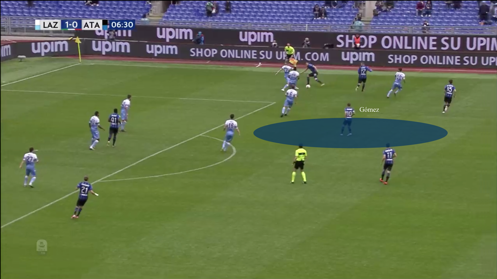 Serie A 2018/19 Tactical Analysis Statistics: Lazio vs Atalanta