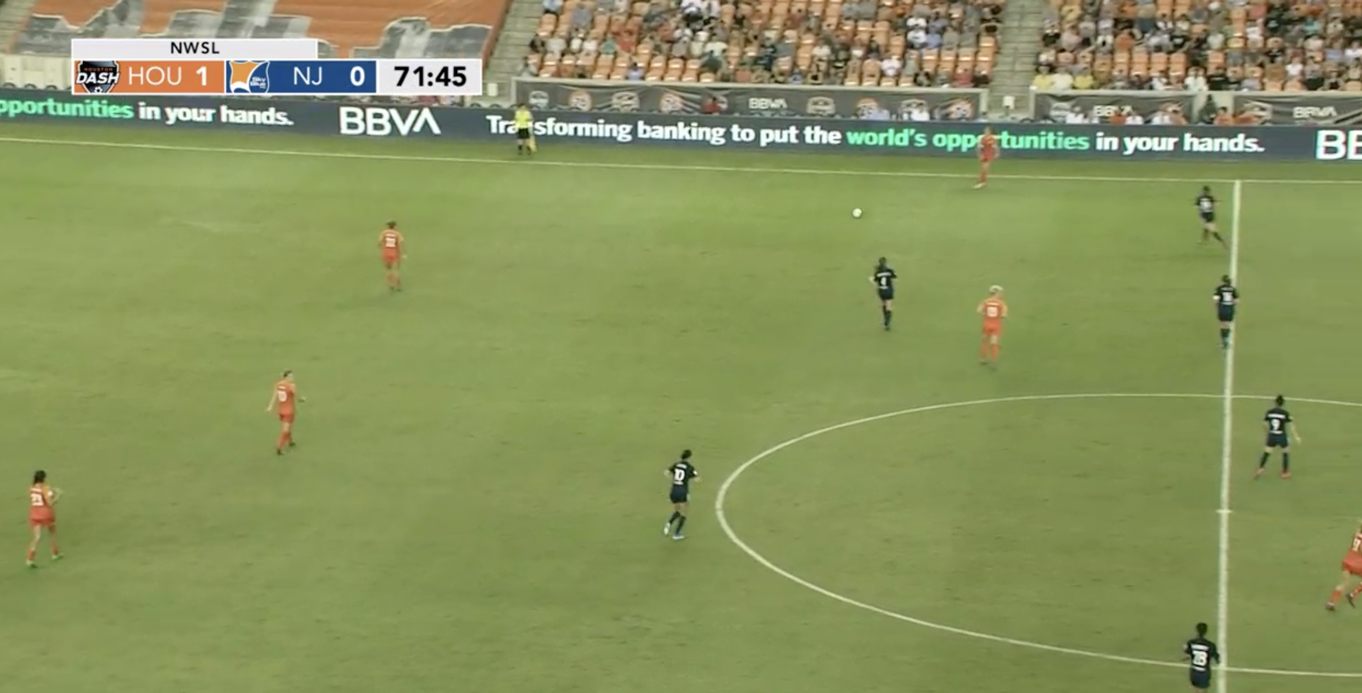 NWSL 2019: Houston Dash vs Sky Blue – tactical analysis tactics