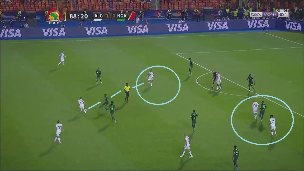 African Cup Of Nations 2019: Algeria vs Nigeria - tactical analysis tactics