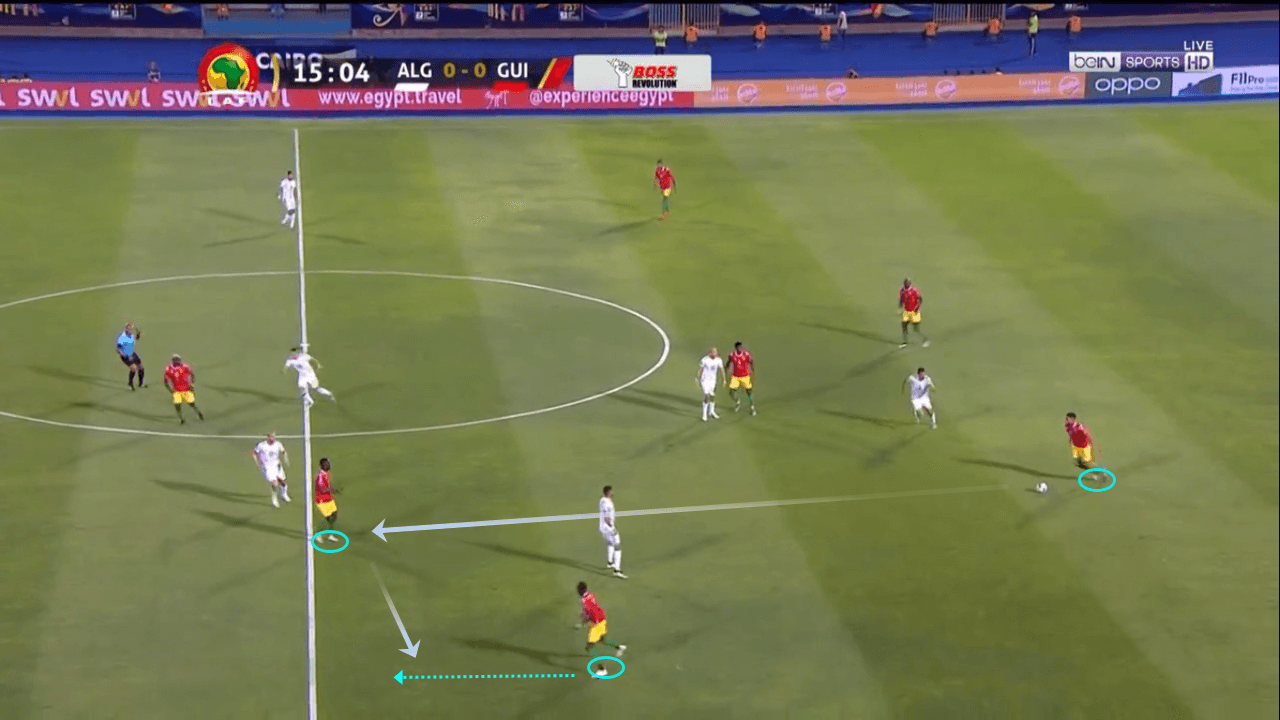 Algeria vs Guinea Africa Cup of Nations 2019 Tactical Analysis