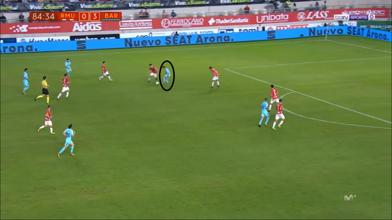 Denis Suàrez at Celta Vigo 2019/20 - tactical analysis tactics
