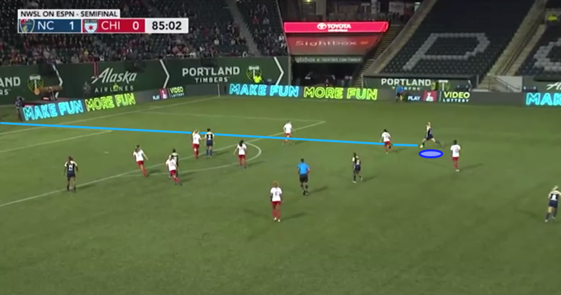 Samantha Mewis 2019 - scout report – tactical analysis tactics