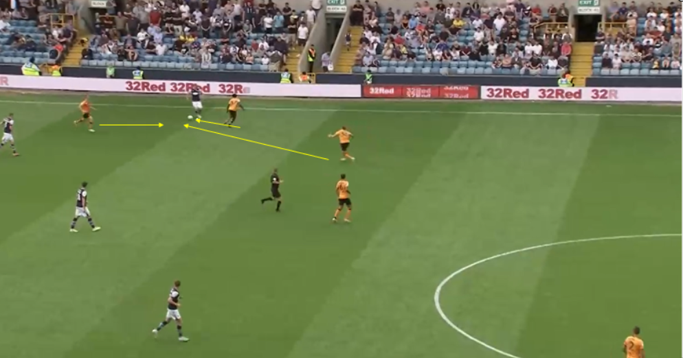Millwall Hull City EFL Championship tactical analysis tactics