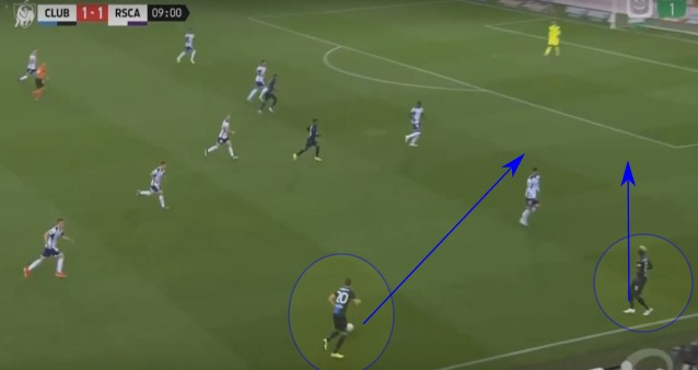 Belgian Pro League 2019/20: Club Brugge vs Anderlecht - tactical analysis tactics