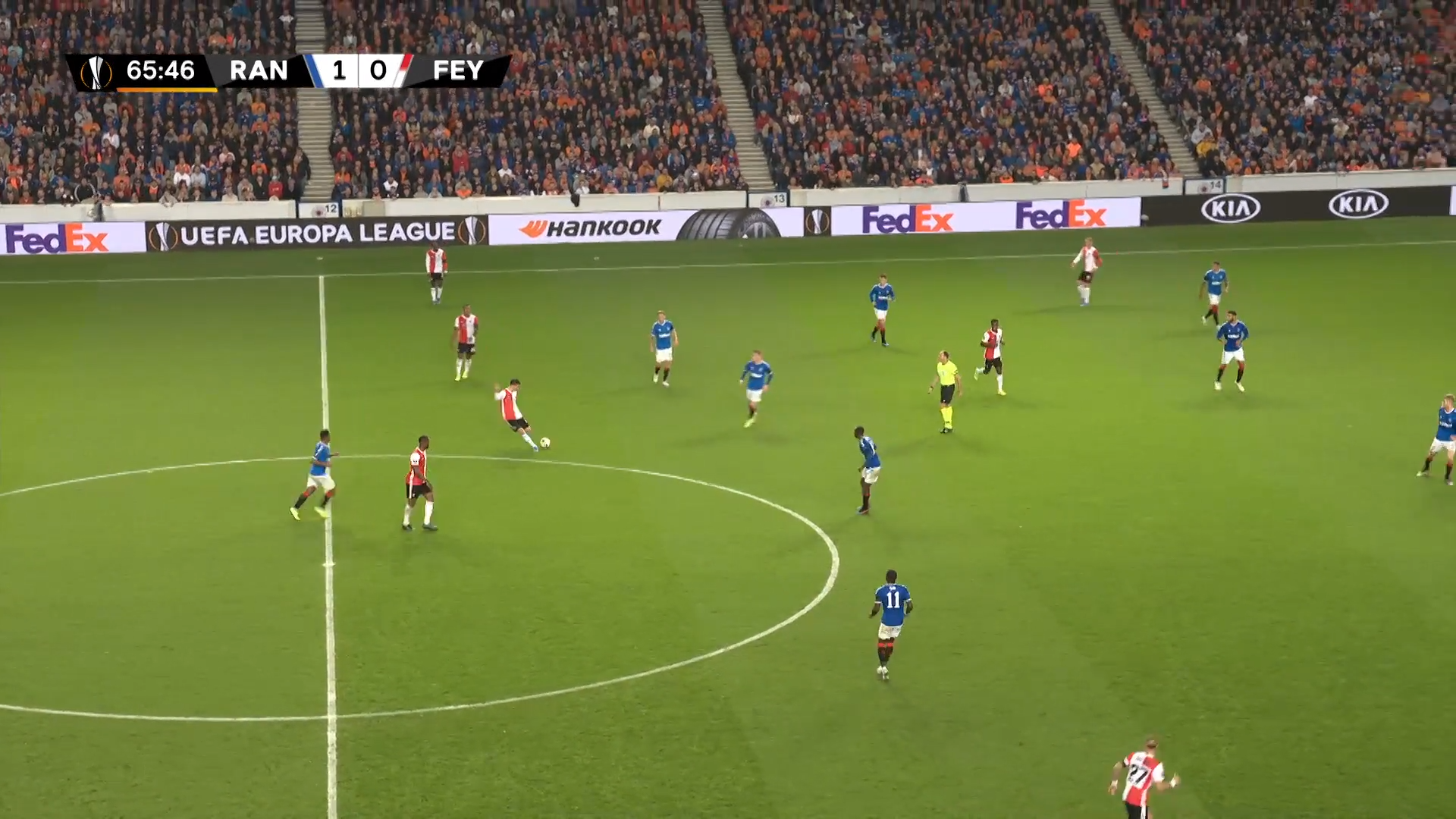UEFA Europa League 2019/20: Rangers vs Feyenoord - tactical analysis tactics