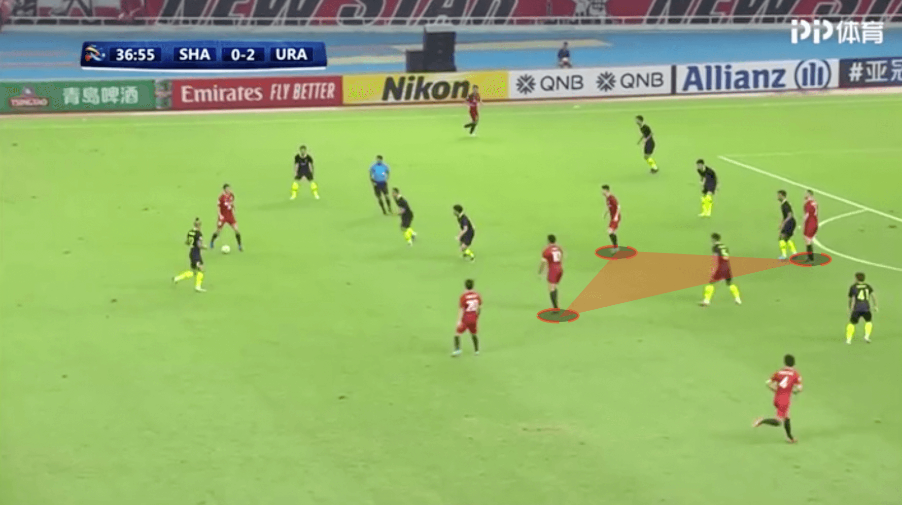 Vitor Pereira at Shanghai SIPG 2019/20 - tactical analysis tactics