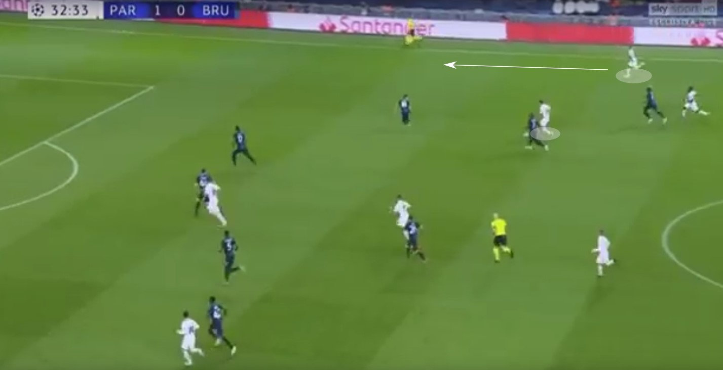 Champions League 2019/20: PSG vs Club Brugge – tactical analysis tactics