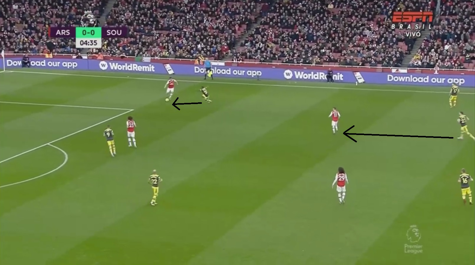 Premier League 2019/20: Arsenal v Southampton - tactical analysis tactics