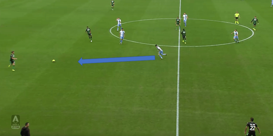 Serie A 2019/20: Sassuolo v Lazio - tactical analysis tactics