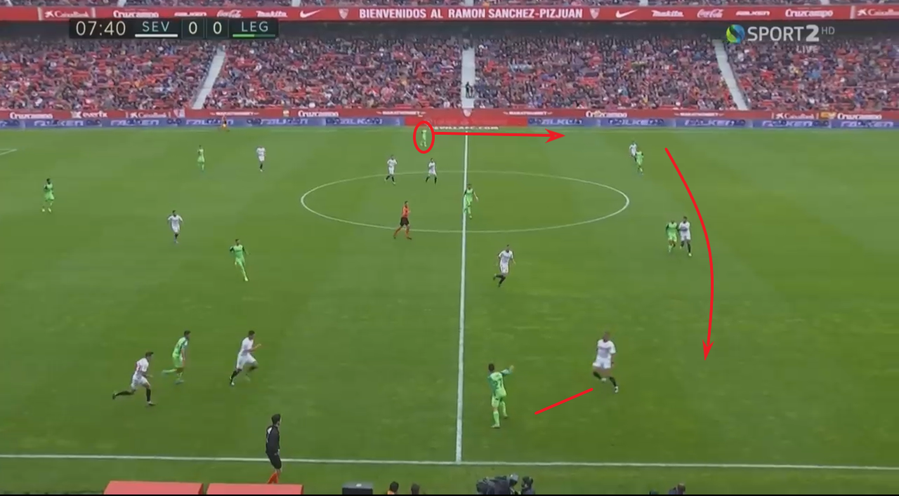 La Liga 2019/20: Sevilla vs Leganes - tactical analysis tactics