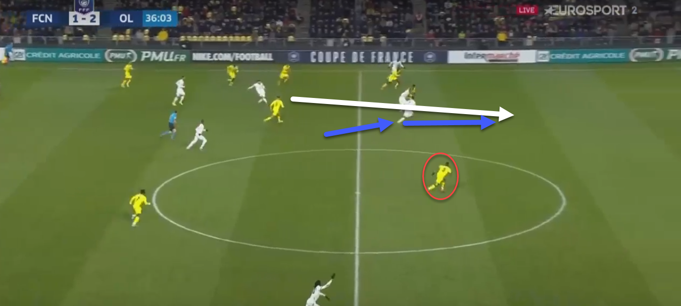 Coupe de France 2019/20: Olympique Lyon vs FC Nantes - tactical analysis tactics