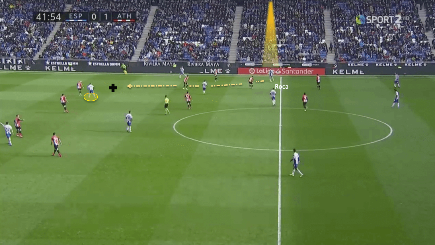Marc Roca 2019/20 - scout report tactical analysis tactics