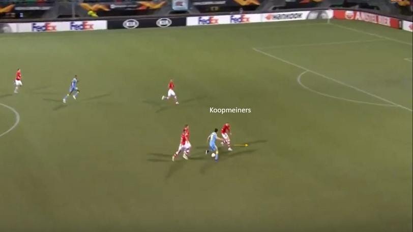 Teun Koopmeiners 2019/20 - scout report- tactcical analysis tactics