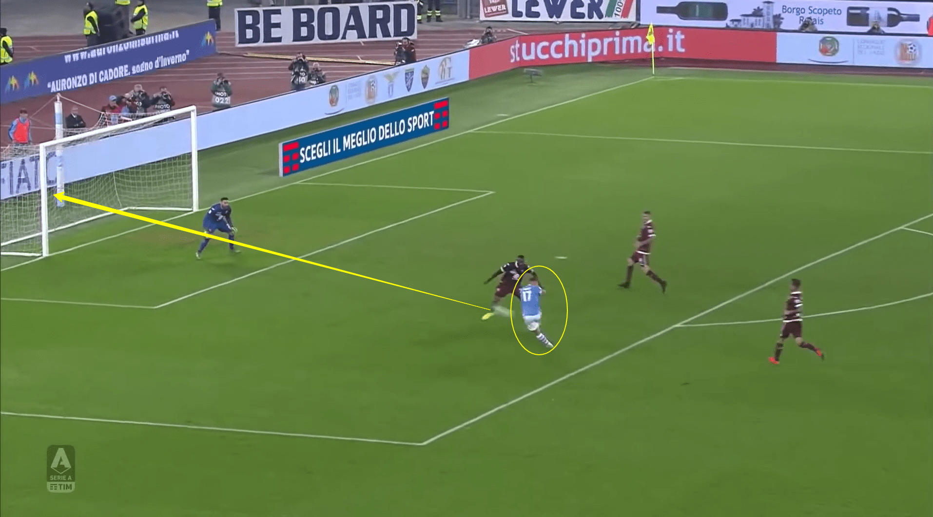 Serie A - Top 3 goal scorers 'part 1' - Ciro Immobile tactical analysis tactics