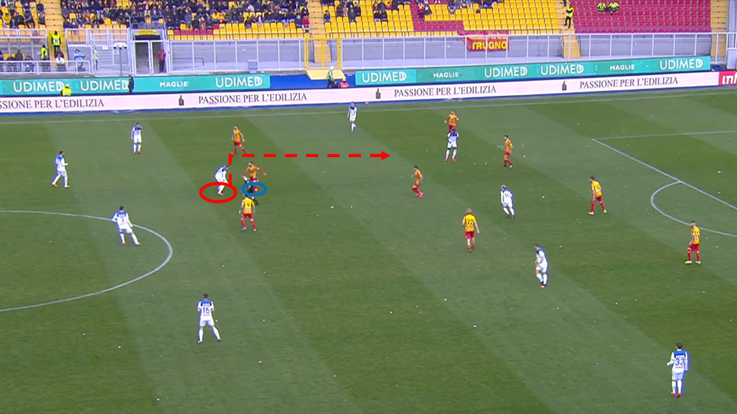 Serie A 2019/20: Lecce vs Atalanta – tactical analysis tactics