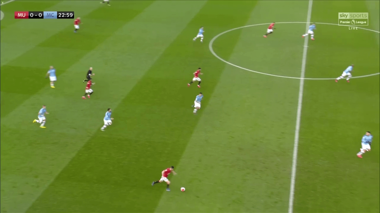 How Manchester United were able to defeat City with 30% possession - tactical analysis tactics