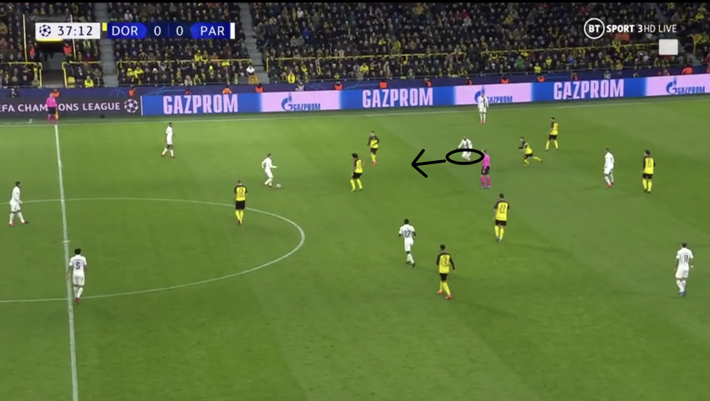 Champions League 2019-2020: Borussia Dortmund vs Paris Saint-Germain-tactical analysis tactics