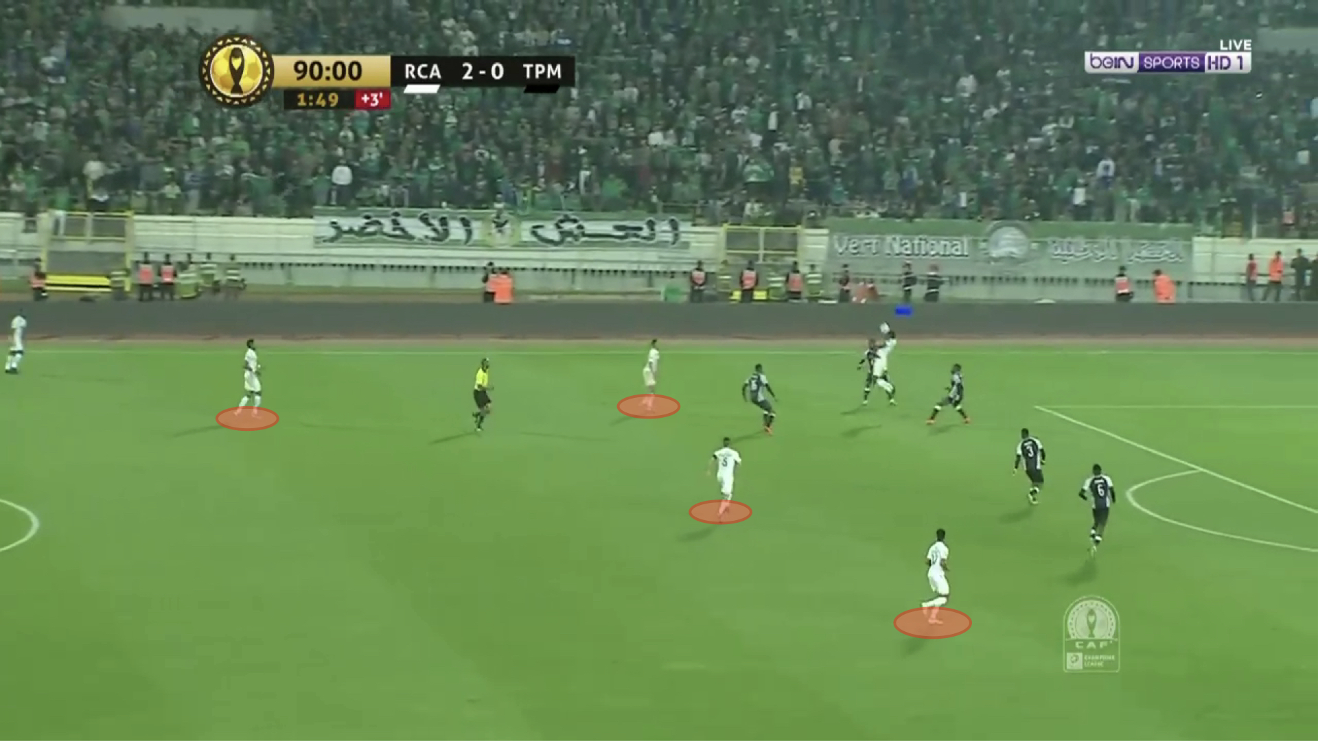 CAF Champions League 2019/20: Raja Casablanca vs TP Mazembe - tactical analysis tactics