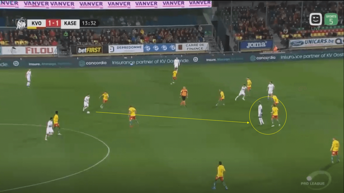 Wout Faes 2019/20 - scout report - tactical analysis tactics