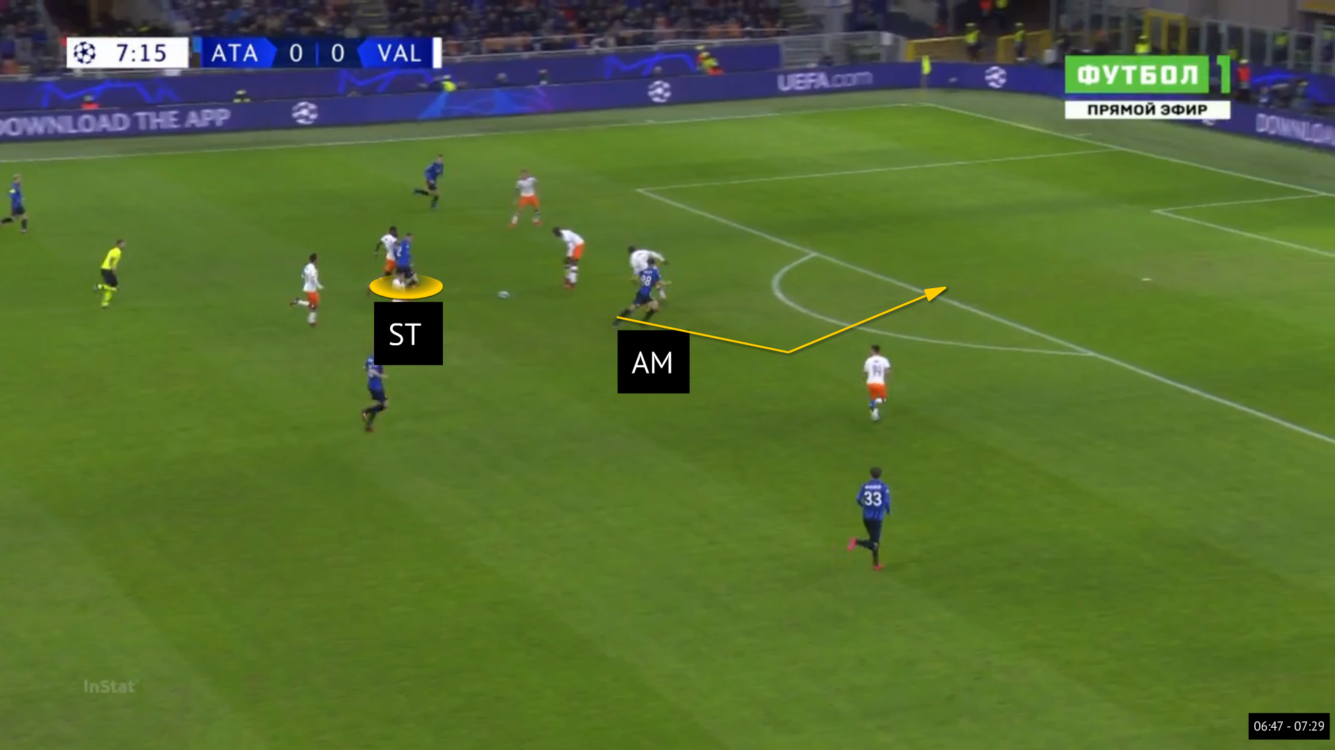 UEFA Champions League 2019/20: Atalanta vs Valencia - tactical analysis tactics