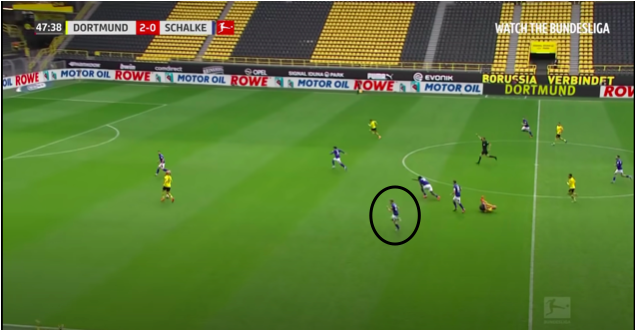 Jonjoe Kenny at Schalke 2019/20 - scout report - tactical analysis tactics