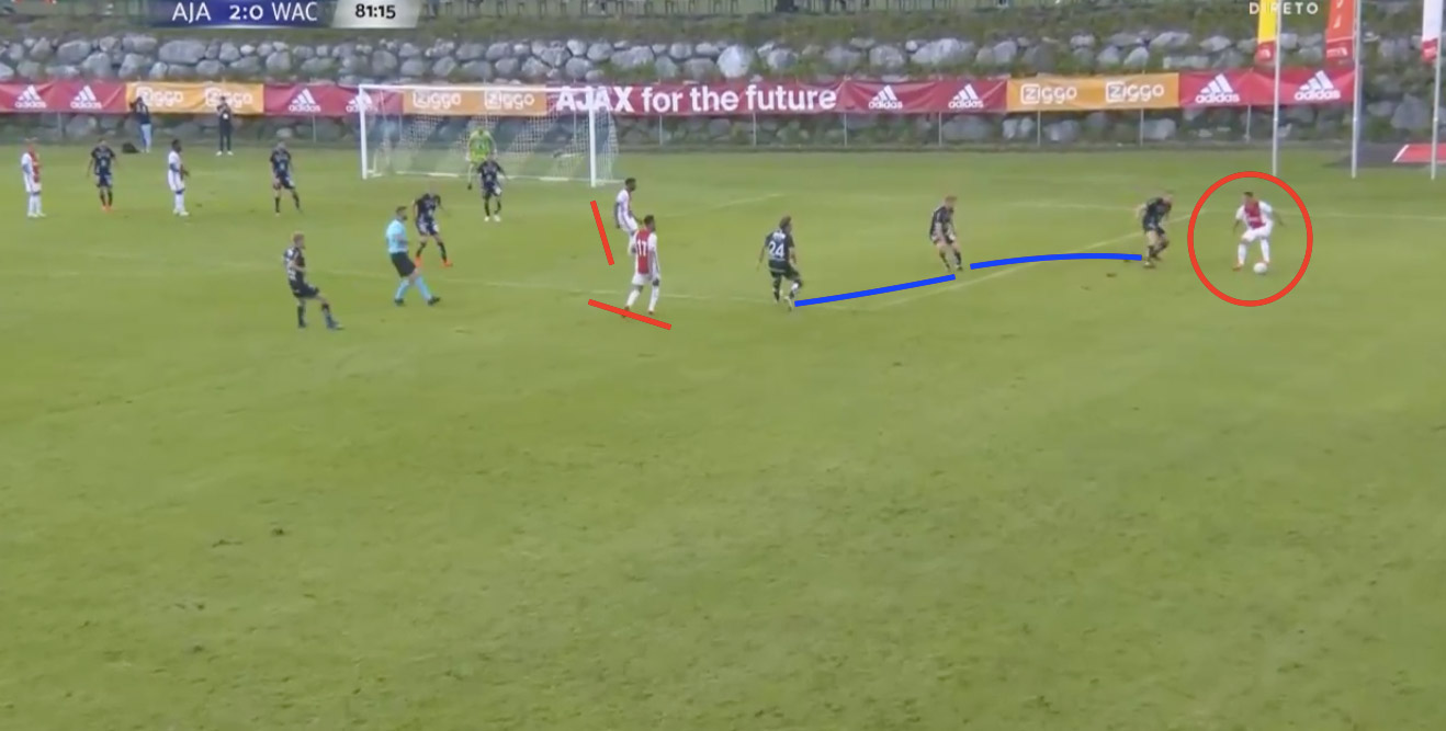 Friendly Pre-Season 20/21: Wolfsberger AC v Ajax - tactical analysis tactics