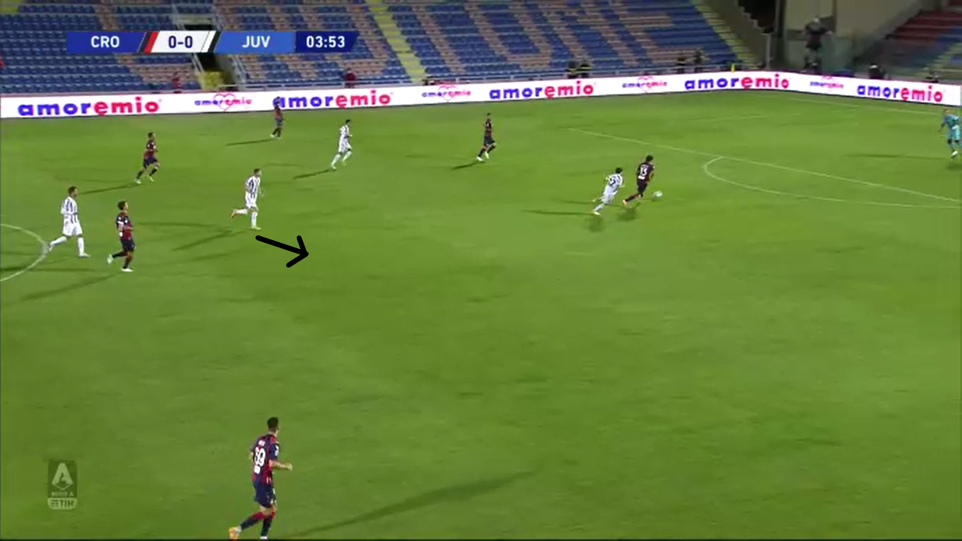 Serie A 2020/21: Crotone vs Juventus – tactical analysis tactics