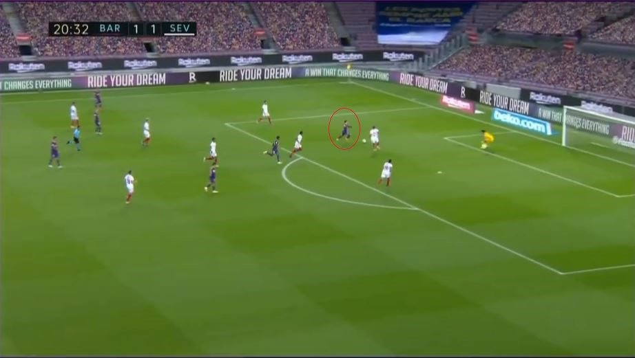 Lionel Messi at Barcelona 2020/21 - scout report - tactical analysis tactics