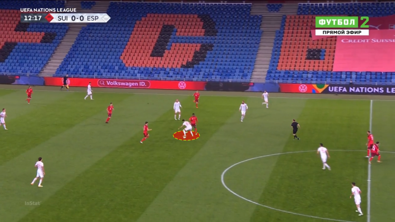 UEFA Nations League 2020/21 - Switzerland vs Spain – tactical analysis - tactics