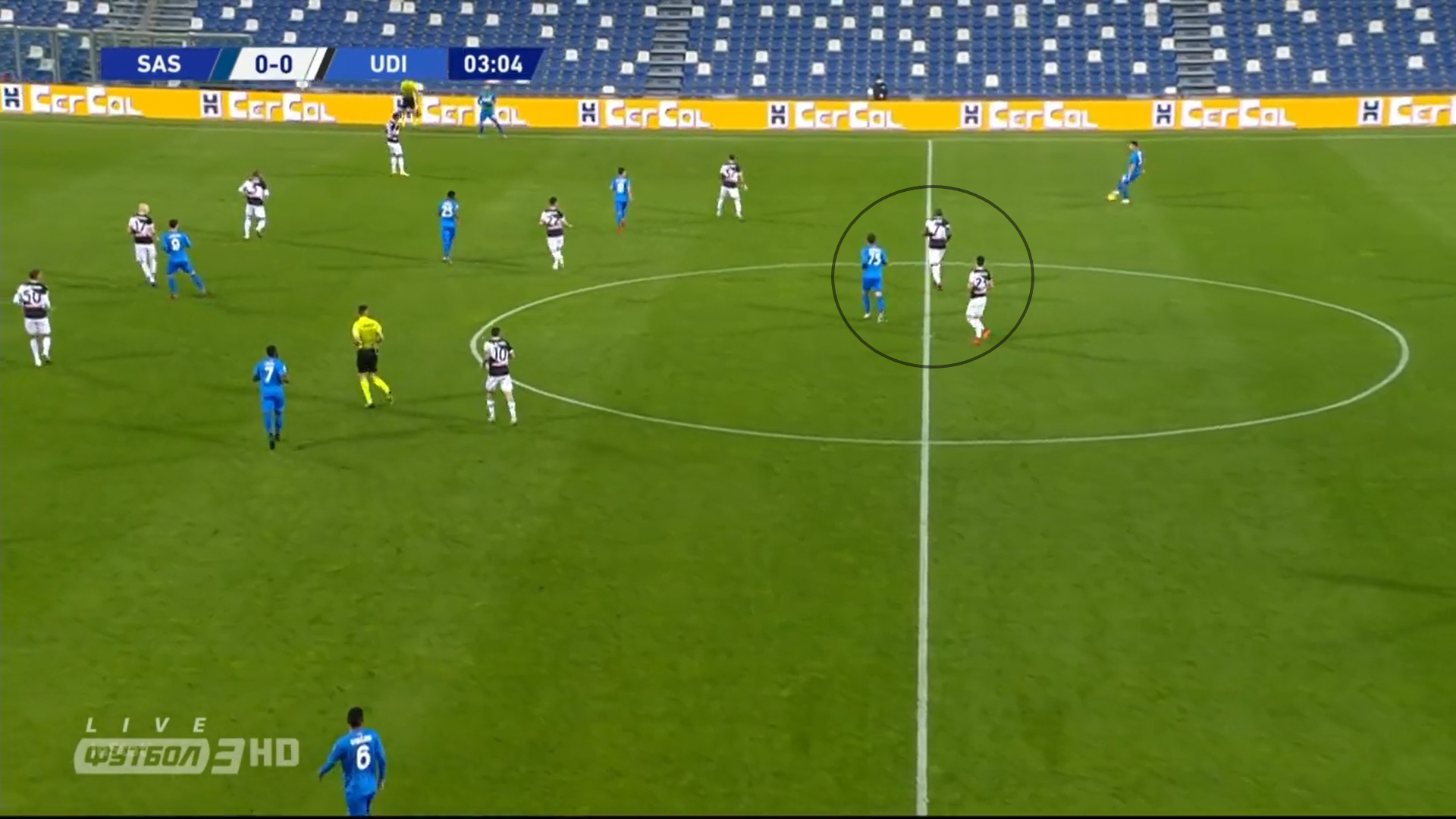 Serie A 2020/21: Sassuolo vs Udinese – tactical analysis tactics